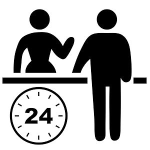 24-Hour Front Desk - Sunnyvale Suites - 29 Palms California Hotel