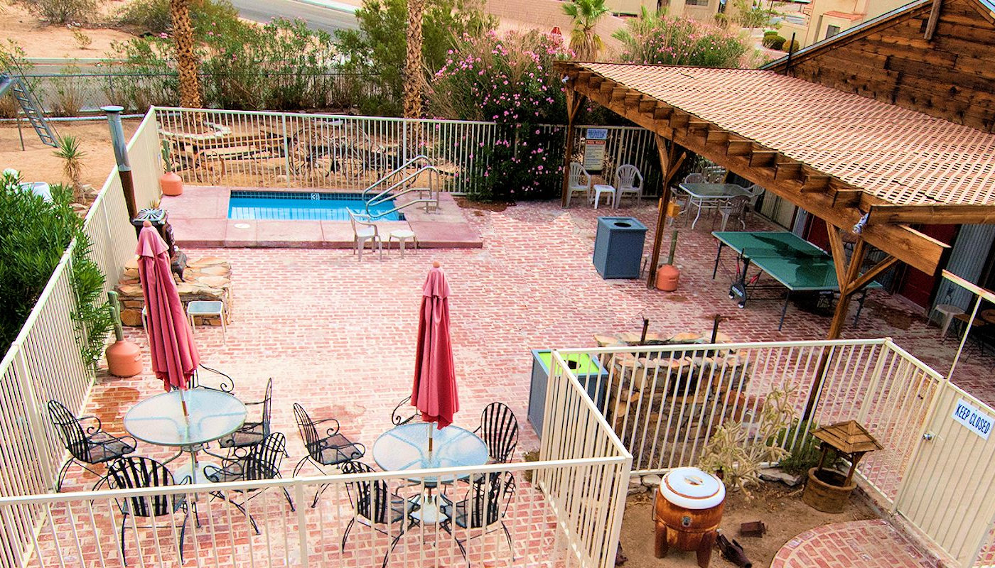 Sunnyvale Suites Pool & Fun Center in 29 Palms CA